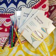 preparing for birth colouring book